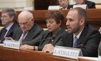 Guzmán expondrá en el Congreso y se reunirá con el FMI | Deuda externa