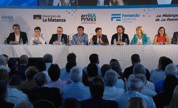 Respaldo de Nación a Kicillof en lanzamiento de créditos pyme | Reactivación económica