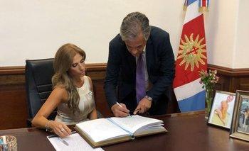 Cristina traspasó la presidencia a Claudia Ledesma Abdala   Por el viaje de cfk a cuba