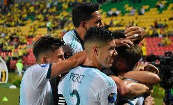 Argentina-Colombia, formaciones, horario y cómo verlo por TV | Preolímpico sub-23