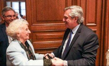 Estela respaldó a Alberto y pidió ampliar la Corte Suprema | Alberto presidente