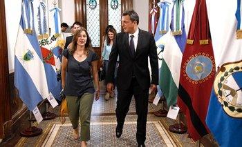 Massa avanza en la creación del Consejo de Seguridad Interior | Congreso