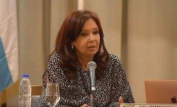 "Cristina al FMI: ""Deberían hacer una quita de deuda importante"" | Cristina kirchner"