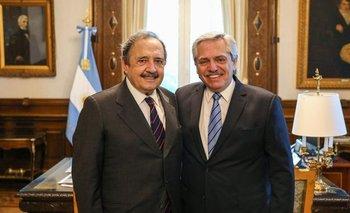 Alberto Fernández recibió a Ricardo Alfonsín | Es con todos