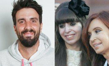 El comentario de Azzaro en la foto de CFK con Florencia   Inesperado