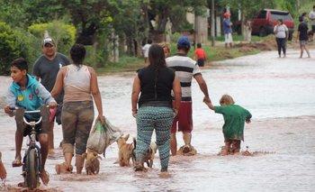 Imágenes impactantes: inundaciones en Salta | Salta