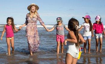 Fabiola Yáñez acompañó a chicos de zonas rurales a conocer el mar | Fabiola yáñez