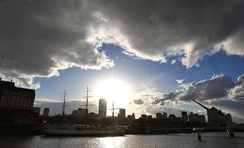 Continúan las altas temperaturas con nubosidad variable   Clima