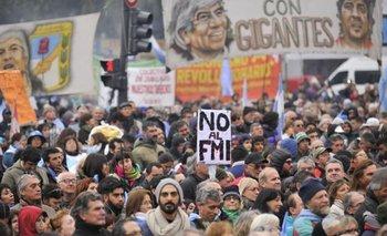 Movilización contra la visita del FMI por la deuda | Fmi
