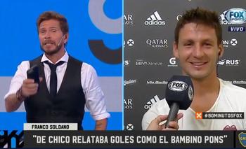 Soldano confesó su fanatismo por un relator de Fox Sports | Boca juniors