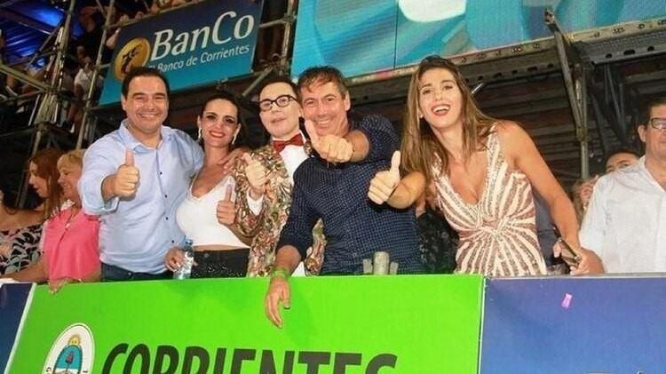 ¿Se olvidó de Baclini? Cinthia Fernández fue vista con un político