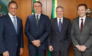 Bolsonaro le propuso a Solá reunirse con Alberto Fernández | Relaciones internacionales