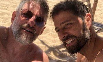 Las románticas vacaciones de Luis Novaresio y su novio  | Farándula