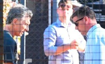 Muestran a Macri en medio de un partido de Pádel | Mauricio macri