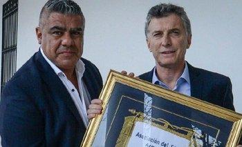 'Chiqui' Tapia vapuleó a Macri por su cargo en FIFA | Macri en la fifa