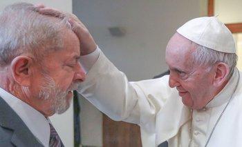 Lula se reunió con el Papa Francisco en el Vaticano | Lula da silva