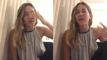 Reapareció Jimena Barón, con un video al borde del llanto | En redes