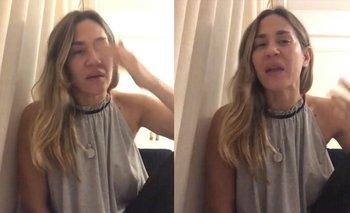 Reapareció Jimena Barón, con un video al borde del llanto   En redes