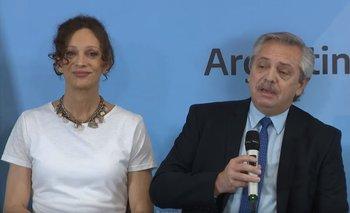 La emoción de Alberto Fernández en la entrega del DNI a Isha | Video
