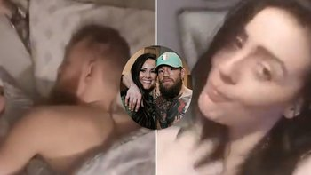 Filtran video de Mc Gregor con una mujer que no es su esposa | Video