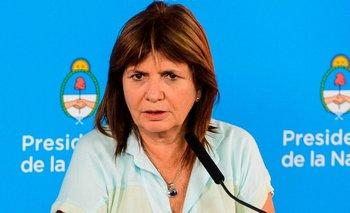 La violenta carta de Patricia Bullrich a Sabina Frederic | Ministerio de seguridad de la nación