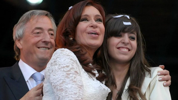 Florencia Kirchner recordó a Néstor con un tierno mensaje | En redes