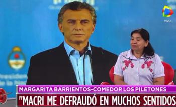 Margarita Barrientos reveló que Macri la dejó sola  | Margarita barrientos