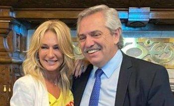 La visita de Yanina Latorre a Alberto Fernández | Yanina latorre