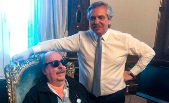 Alberto se emocionó al aire al dialogar con Litto Nebbia | En televisión