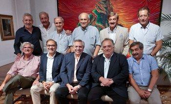 Alberto Fernández cenó con sus amigos en Olivos | Alberto fernández
