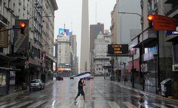 Calor húmedo y lluvias persistentes en Capital Federal | Clima