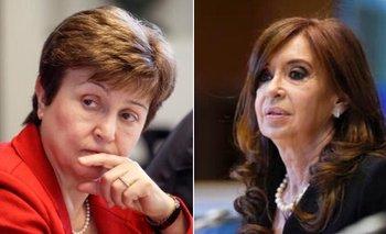 La titular del FMI respondió a CFK sobre la deuda | Fmi