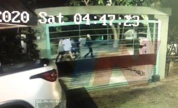 Nuevo video de los rugbiers escapando después del asesinato | Crimen en gesell