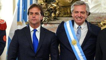 Alberto Fernández visitará a su par uruguayo Lacalle Pou | Uruguay