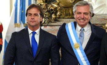 Alberto Fernández visitará a Lacalle Pou | Uruguay