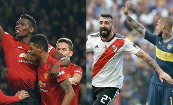 La inesperada burla de Manchester United a Boca   Copa libertadores