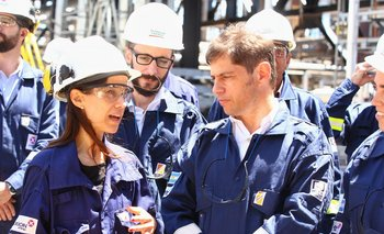 Kicillof se reunió con Bulgheroni y apoyó al sector petrolero | Provincia de buenos aires