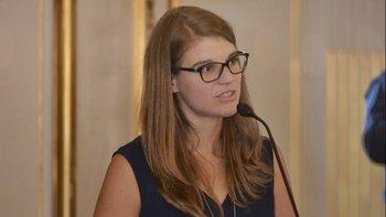 Delfina Rossi, cerca de ser designada en el Banco Ciudad | Legislatura porteña