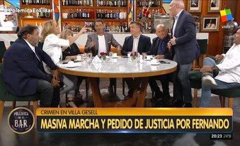 Chiche Gelblung abandona Polémica en el Bar | Televisión