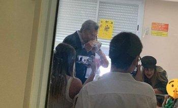 Reapareció Macri y visitó a un nene con cáncer terminal | Hospital elizalde