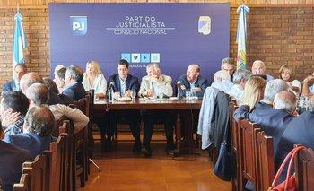 Insólito momento en el Consejo Nacional del PJ | Peronismo
