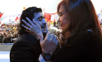 El mensaje de Maradona por el cumpleaños de Cristina Kirchner | Cristina cumple