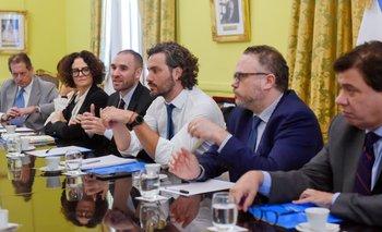Primera cumbre por el acuerdo económico y social | Casa rosada