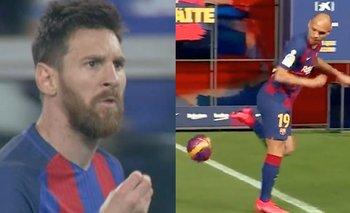 El nuevo compañero de Messi dio pena en su presentación | Lionel messi