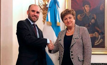 "FMI: ""Queremos que la economía argentina se recupere"" | Kristalina georgieva"