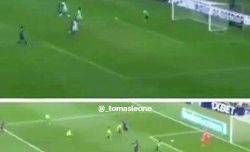 El gol de Messi que es igual al que erró ante Alemania   Lionel messi