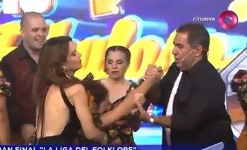 Bailarina se desmayó en Canal 9 y debieron ir al corte | Canal 9