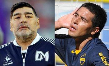 Boca en llamas: Diego Maradona liquidó a Juan Román Riquelme | Boca juniors