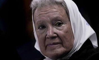 Nora Cortiñas aceptó las disculpas de Alberto | Derechos humanos