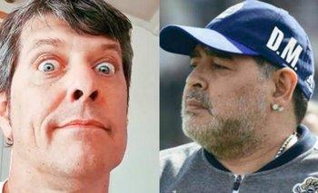 Después de cruzar a Riquelme, Maradona liquidó a Pergolini | Boca juniors